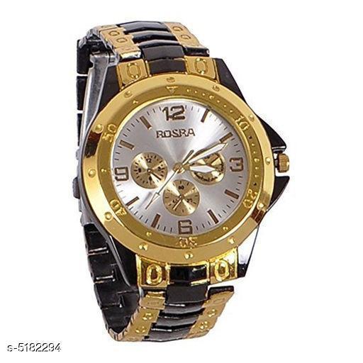 Trendy Attractive Metal Men's Watches
