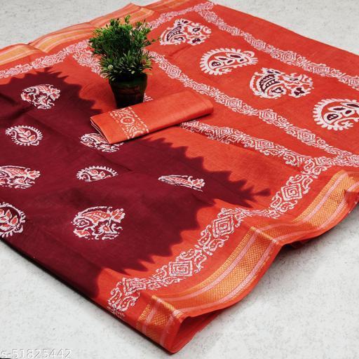 Wax Batik Special Sarees