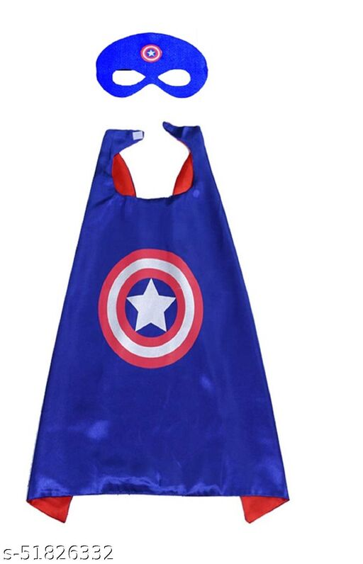 ABE captain America cape with Face mask set of 1