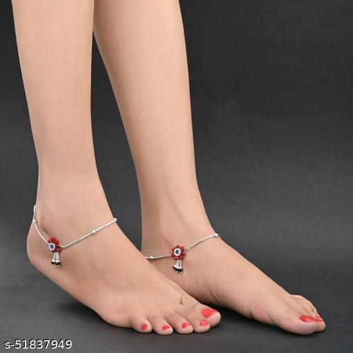 Shimmering Charming Women Anklets & Toe Rings