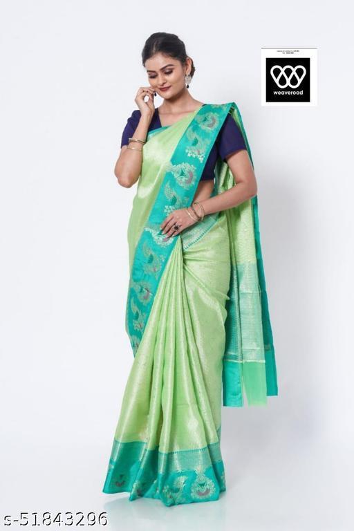Sadha Banarasi Mix Desing Saree