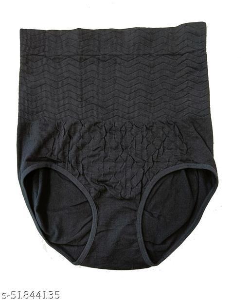 """Women High Waist Poly Cotton Hip Abdomen Tummy Body Shaper Corset Underwear Brief - Fits 32"""" to 36"""" Waist"""