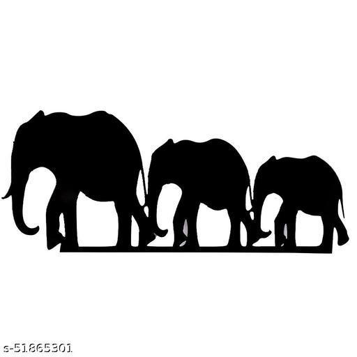 Elephant herd Stickers