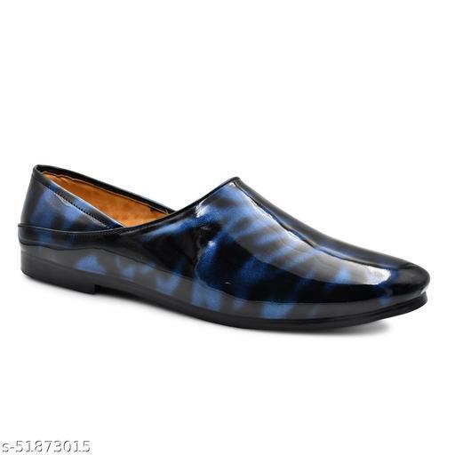 Mr Men Patent Loafers For Men, Patent nagra For Men, Patent Mojari For Men