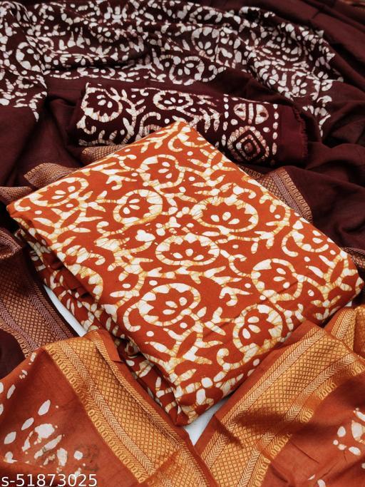 Rayon Batik Suit