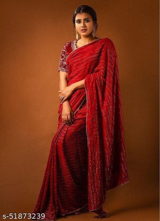 womens trendy exclusive sarees