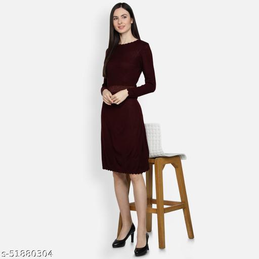MISS-18 Women's Wenge Fashion Dress