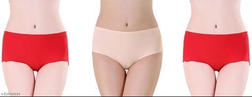 Unique_Enterprise Women's & Girls Fancy Cotton Panties Briefs (Pack Of 3)