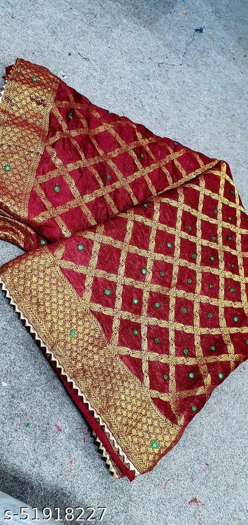 ghadchola banarsi silk sarees with full heavy zari with BAZZ full gauranti product