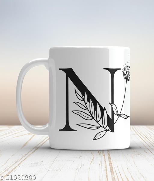 Ceramic mug-N