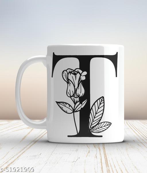 Ceramic mug-T