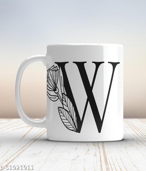 Ceramic mug-W