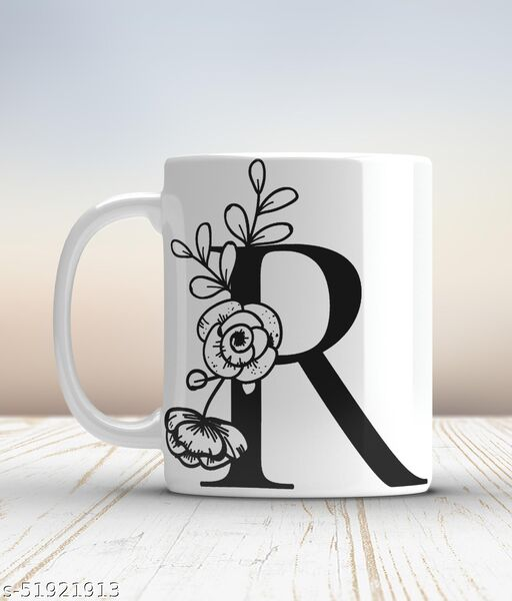 Ceramic mug-R