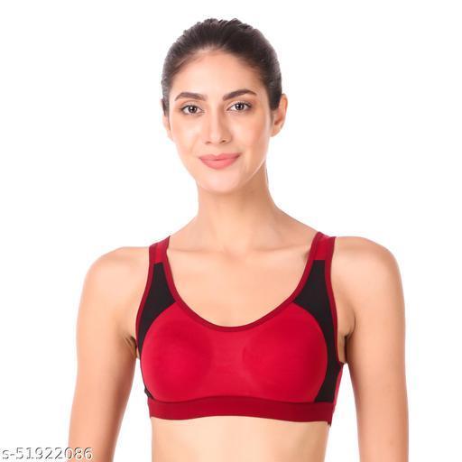 Empisto Branded  sport bra maroon color nike bra