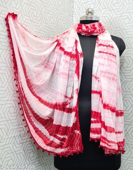 Lady Shopi Beautiful Women Chiffon Printed Stylelist Dupatta(CHINON RANI)