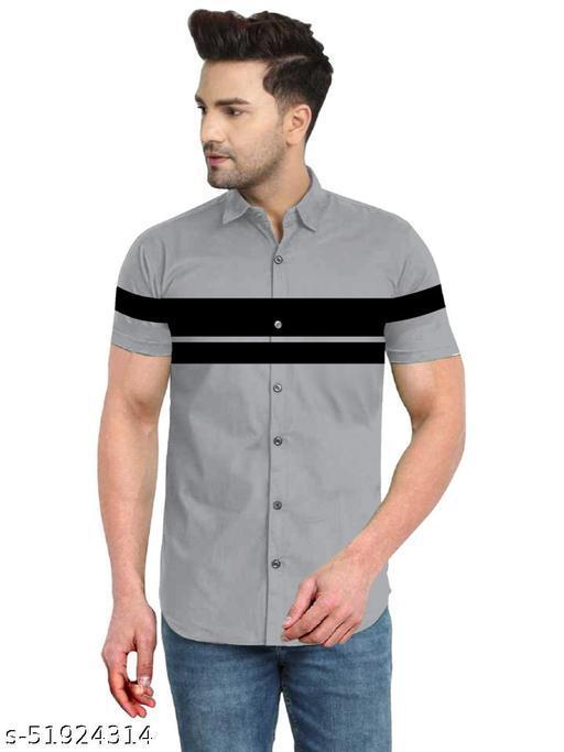 Men's Digitally Printed Casual Shirt