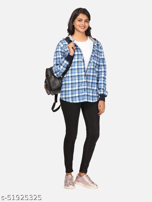 BULLMER Trendy Hooded Sweatshirt for Women's