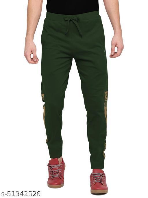 BULLMER Men Green Athleisure Active wear Track Pants