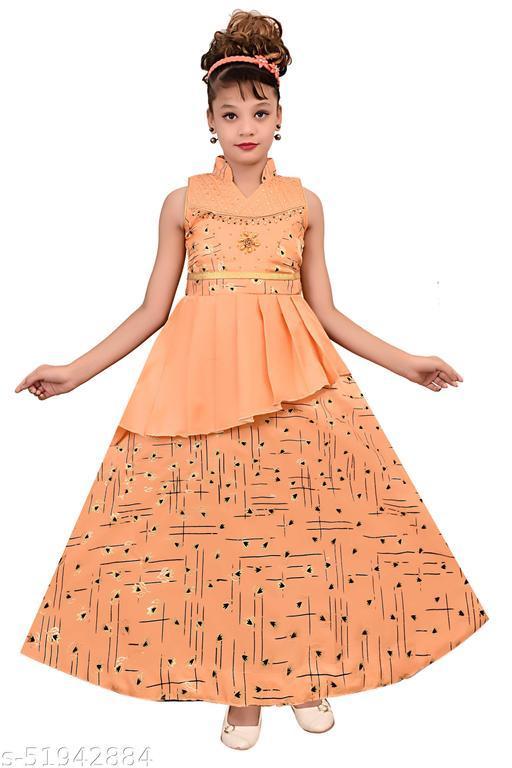 Designer Girls Ethnic Gowns