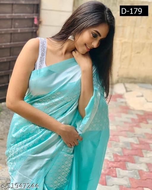 Diyan Fashion Banarasi  Kanchipuram Silk Saree