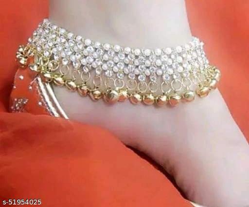 Twinkling Fancy Women Anklets & Toe Rings