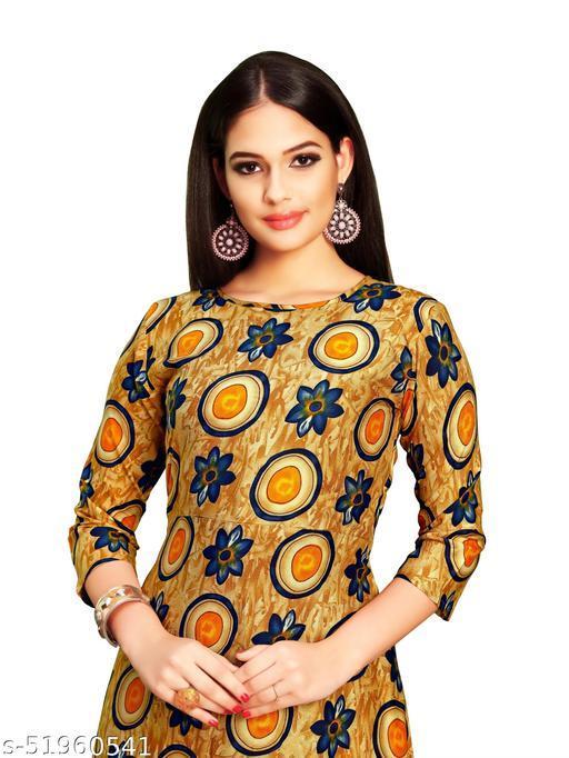 Women's Full Flared Floral Printed Gown and Anarkali Kurta, Anarkali Long Kurti for Girls