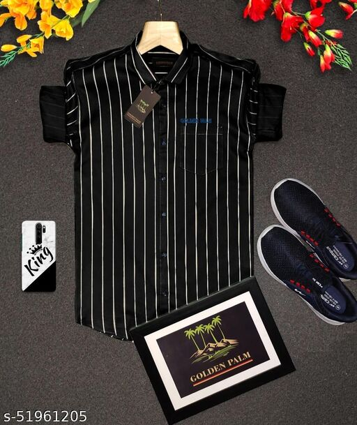 Classic Partywear Men Shirts
