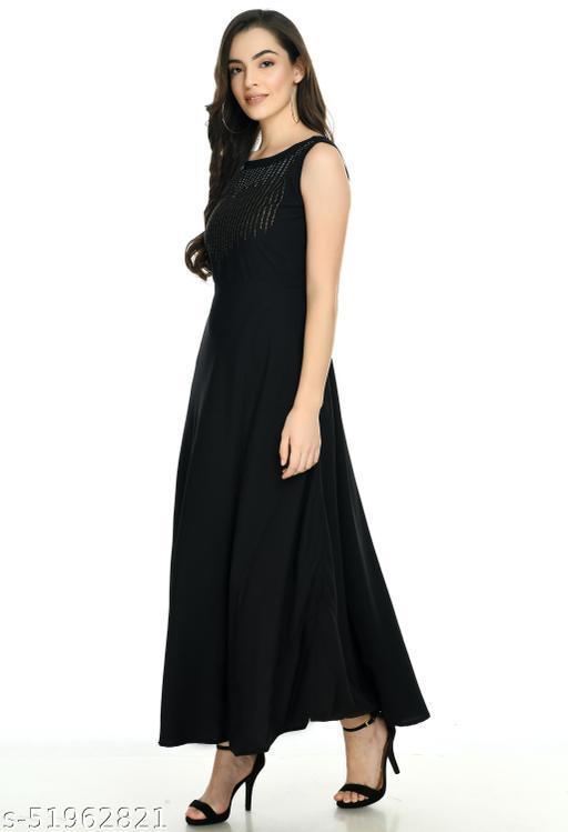 VELKEL CLOTHING PRINTED PRINT BEAUTIFULL MAXI DRESS