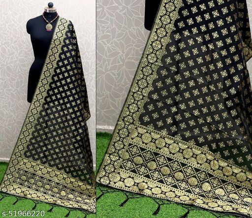 Fashionbook New Fancy Designer Silk Dupatta