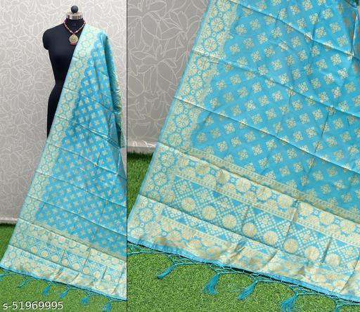 Kheni Tex New Fancy Designer Silk Dupatta