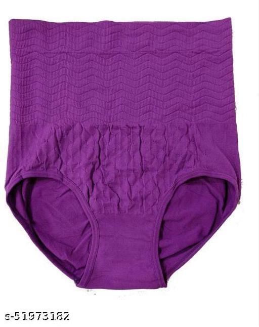 Tummy Tucker Women's High Waist Shapewear with Anti Rolling Strip Tummy Control Panties