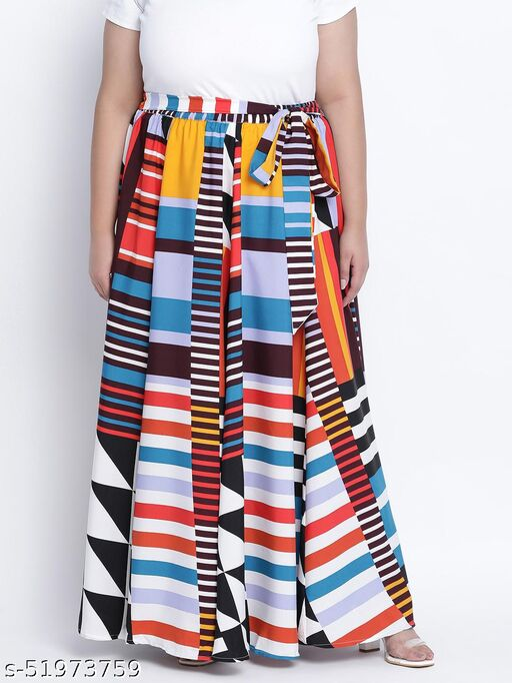 Multihued gathered dense Plus skirt