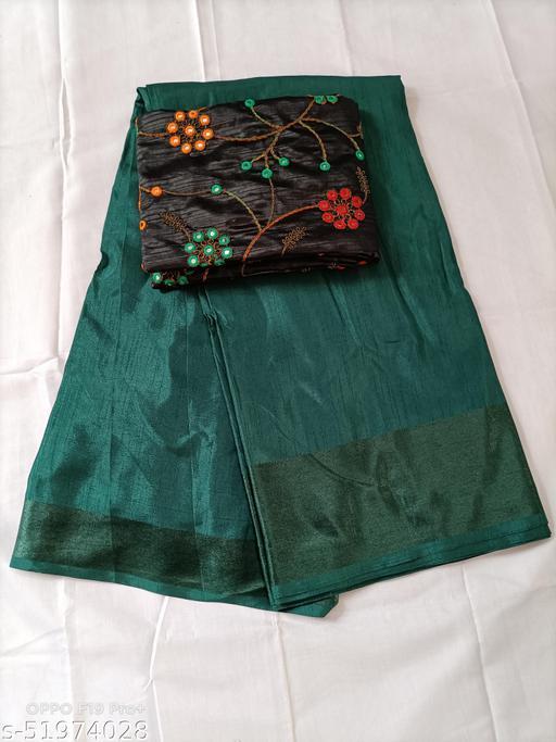 VNK Fashion Dola Silk Saree