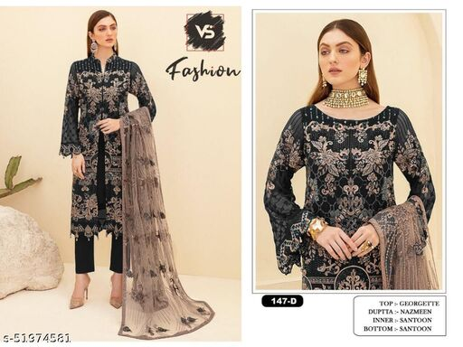 Kashvi Attractive Semi-Stitched Suits