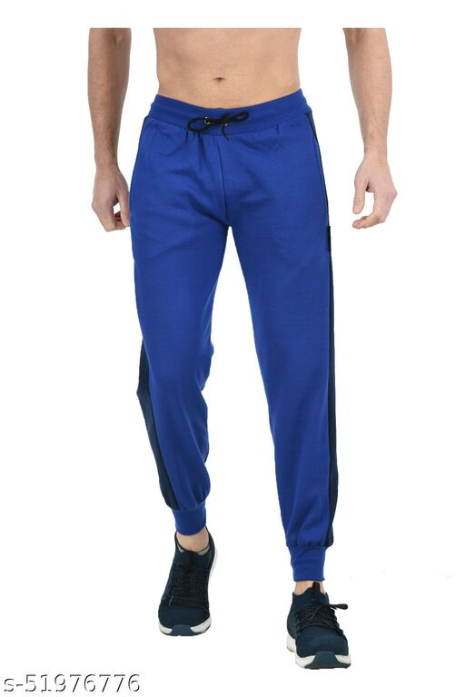 IndiStar Mens Solid Fleece Warm Lower/Track Pants (Pack of 1)