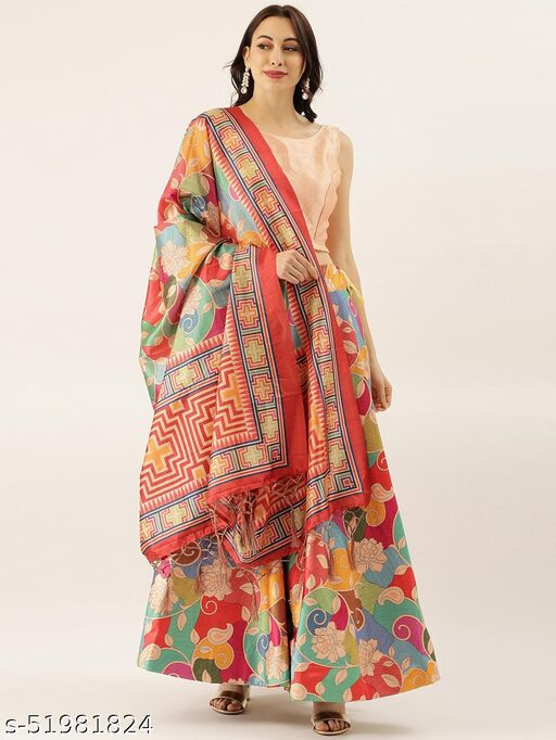 PRINTED BEAUTIFUL LENGHA WITH DUPATTA AND BLOUSE
