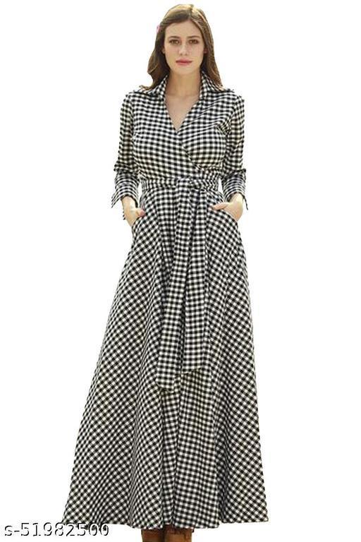 Ritsila Women's Fit And Flare Western Fancy Gown Dress