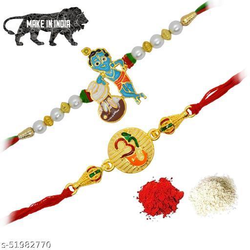 Shimmering Unique Rakhi