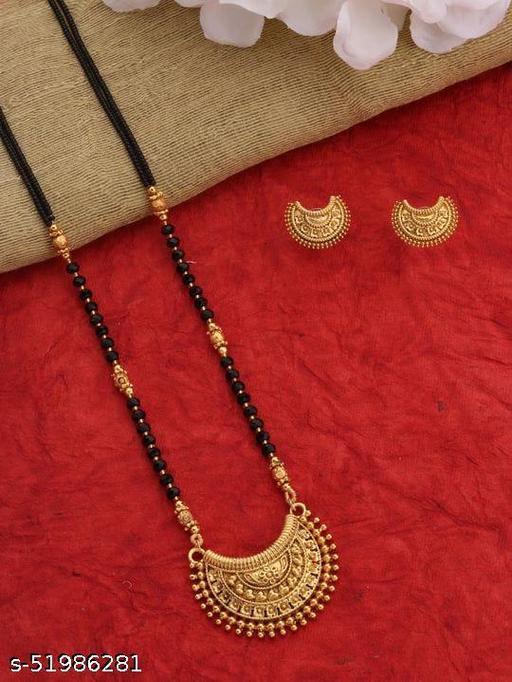 Gold Daily Wear Mangalsutra Set