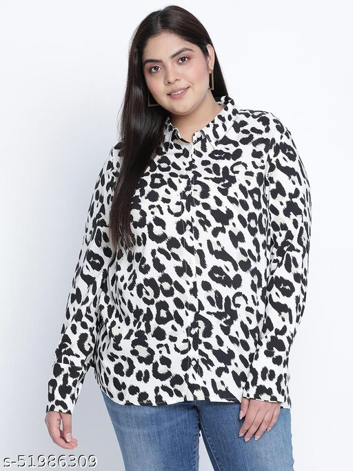 Richi rich animal print plus size Shirt