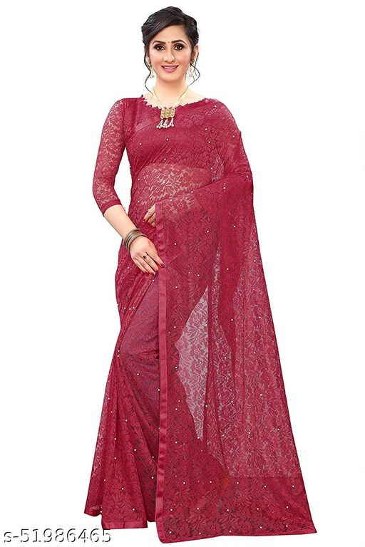 Fancy Rusal Net Saree