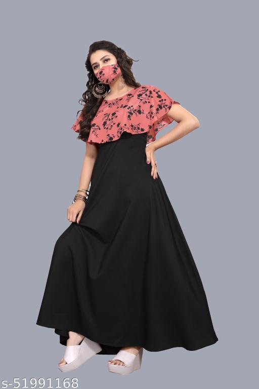 PE Womens Polycrepe Maxi Dress sleeveless