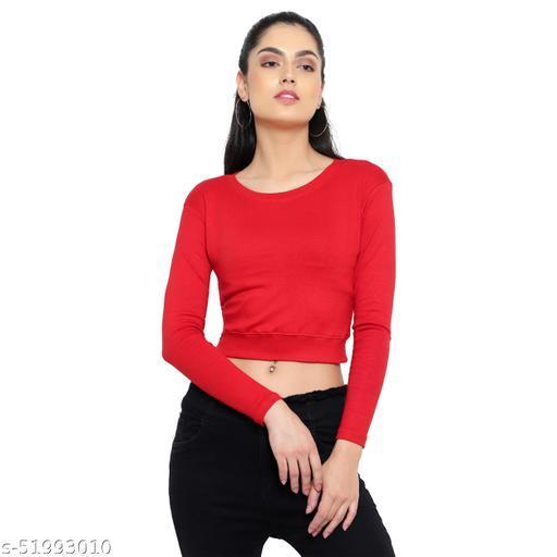 DIAZ full sleeves Crop Top for girls/women
