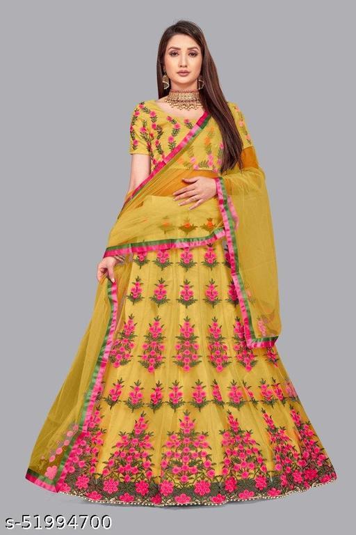 Yami Fashion Embroidered lehenga Choli
