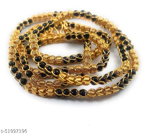 VR Fashion HUB Copper Gold Plated 24 Inch Trendy Chain For Women