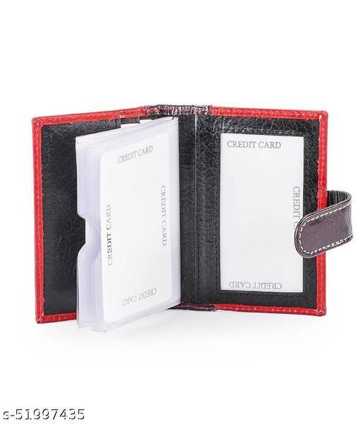 Genuine Leather Card Holder/20pcs Card Slots