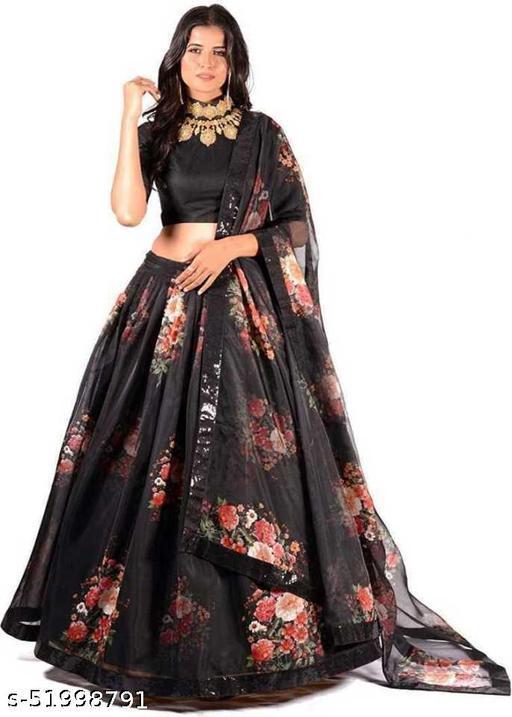 NIYTI FAB New Fashion Soild Stylish Lehenga Choli.