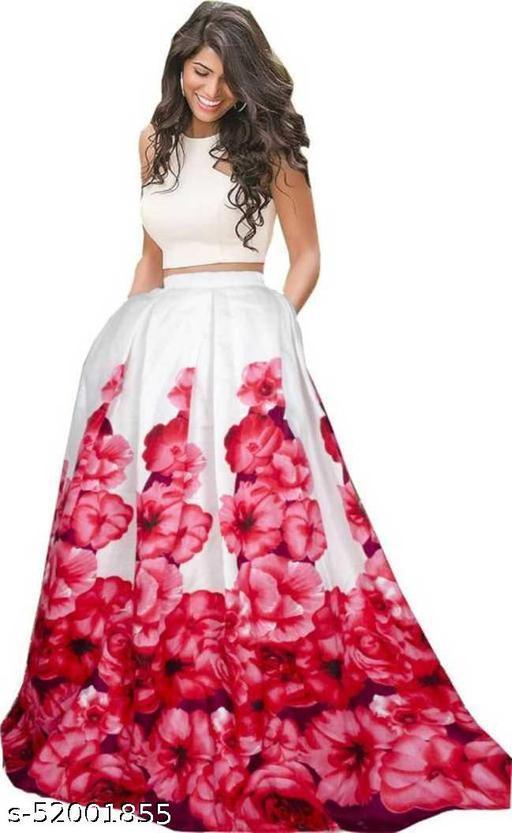 OCEAN DREAM  New Fashion Soild Stylish Lehenga Choli.