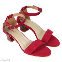 Stylish Women's Velvet Multicolor Sandals