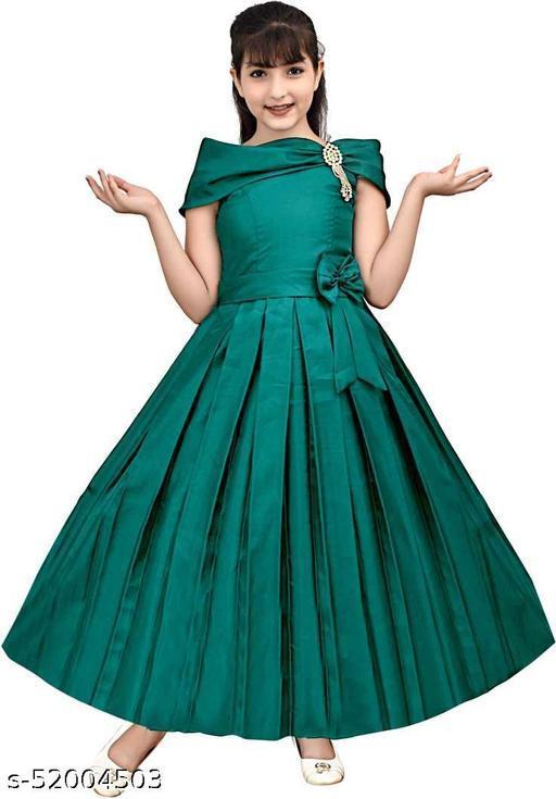 Stylish Girls Ethnic Gowns